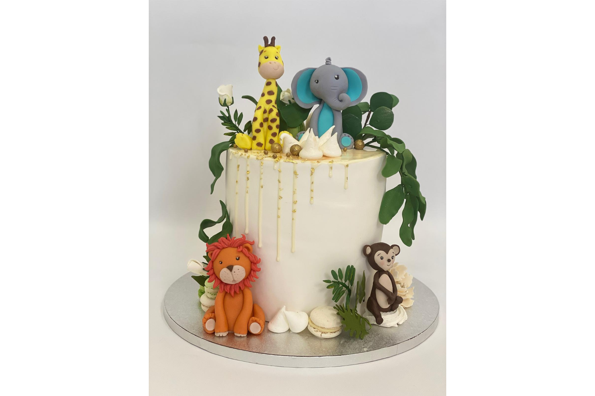 Tort Aniversare Copil - Animals Jungle 4