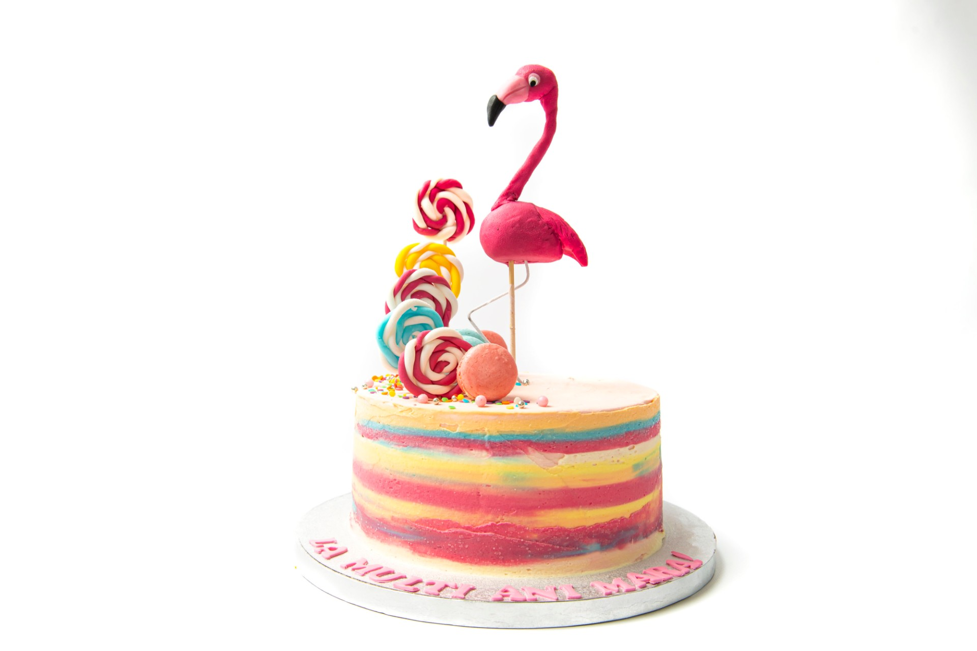Tort Aniversare - Tematica Flamingo