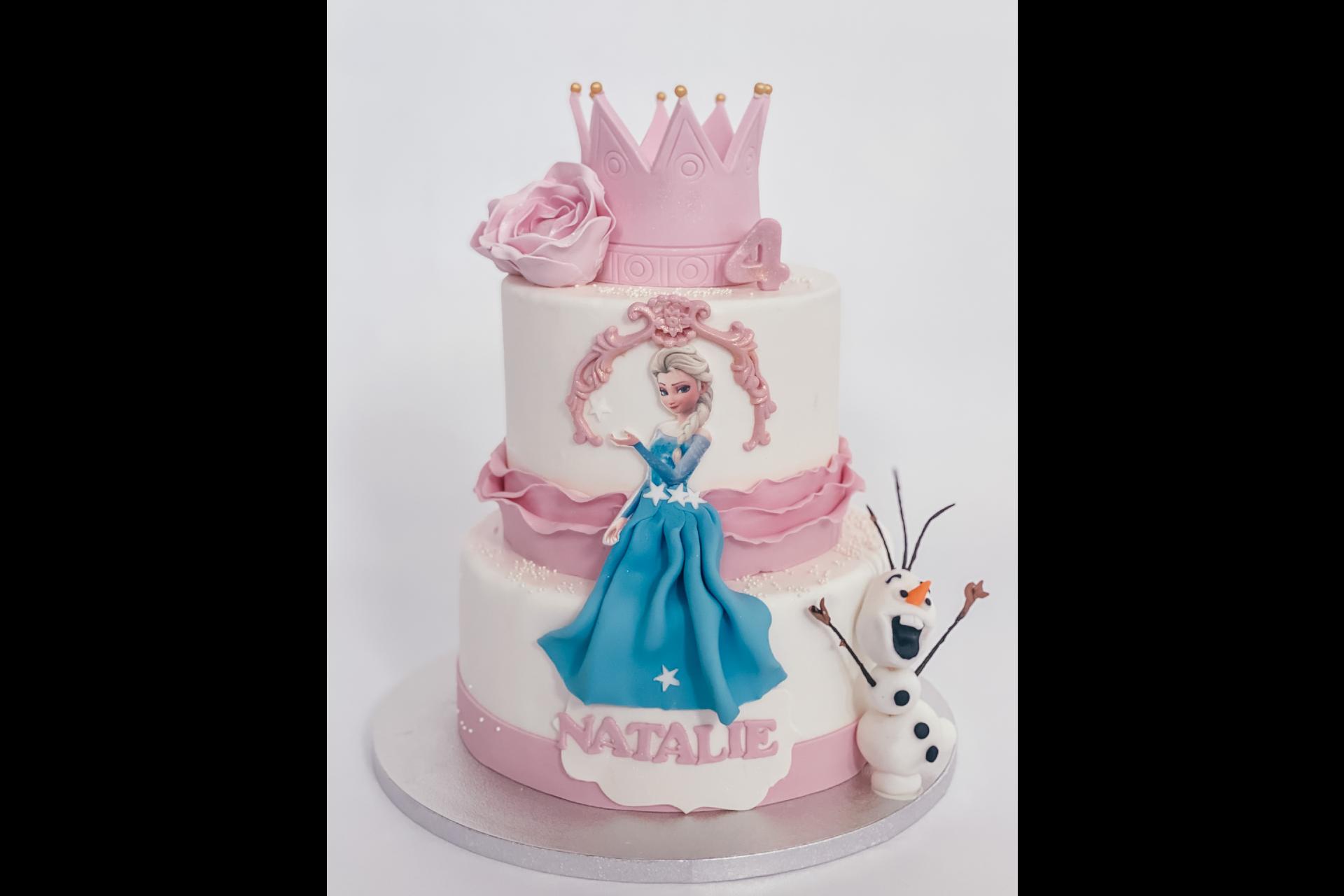 Tort Aniversare Elsa