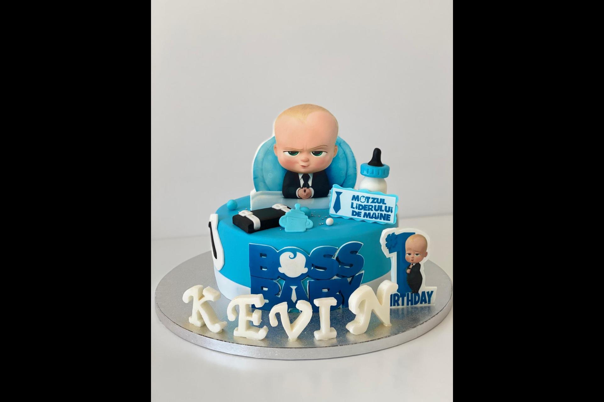 Tort Aniversare Copil - Baby Boss 2