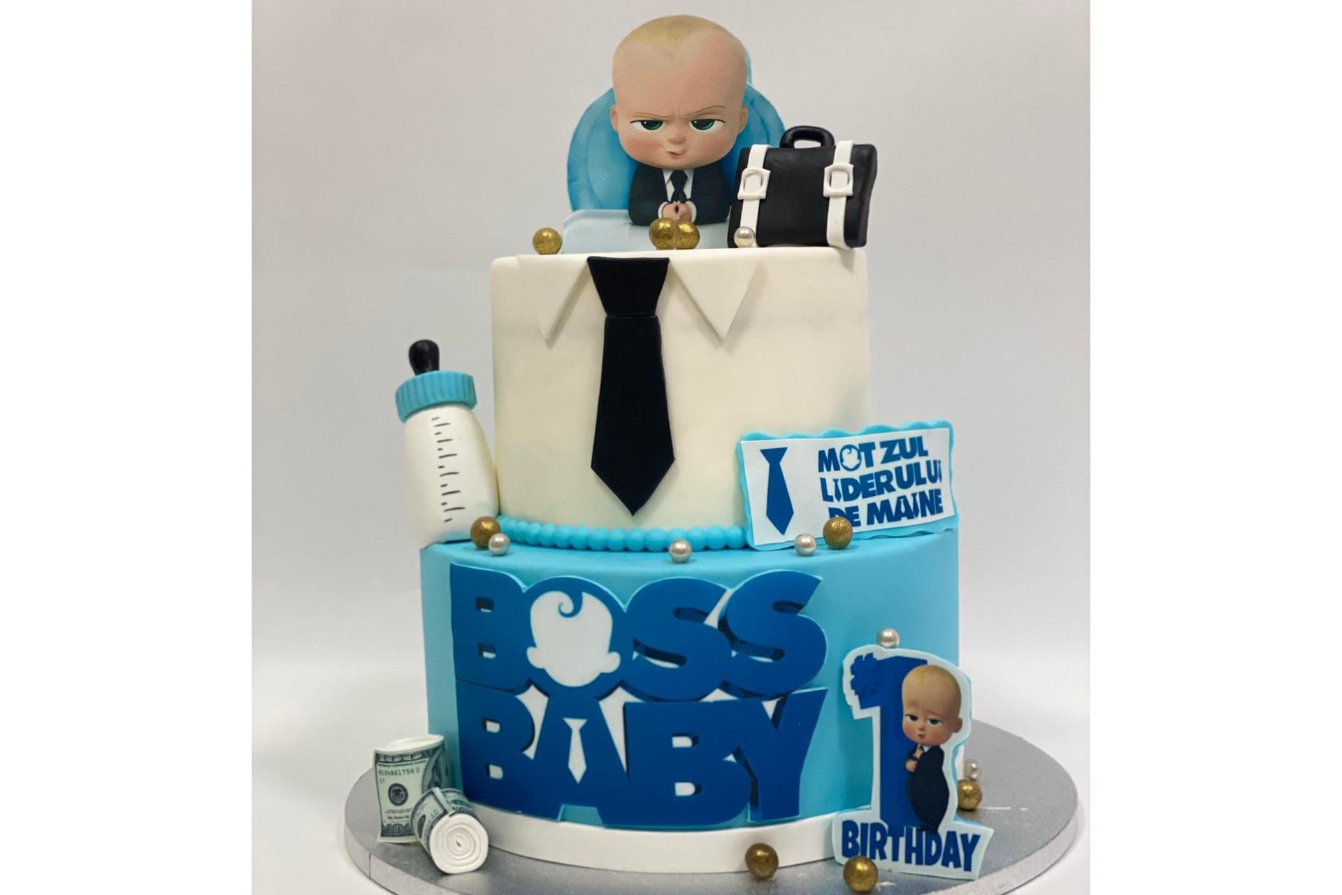 Tort Aniversare - Baby Boss