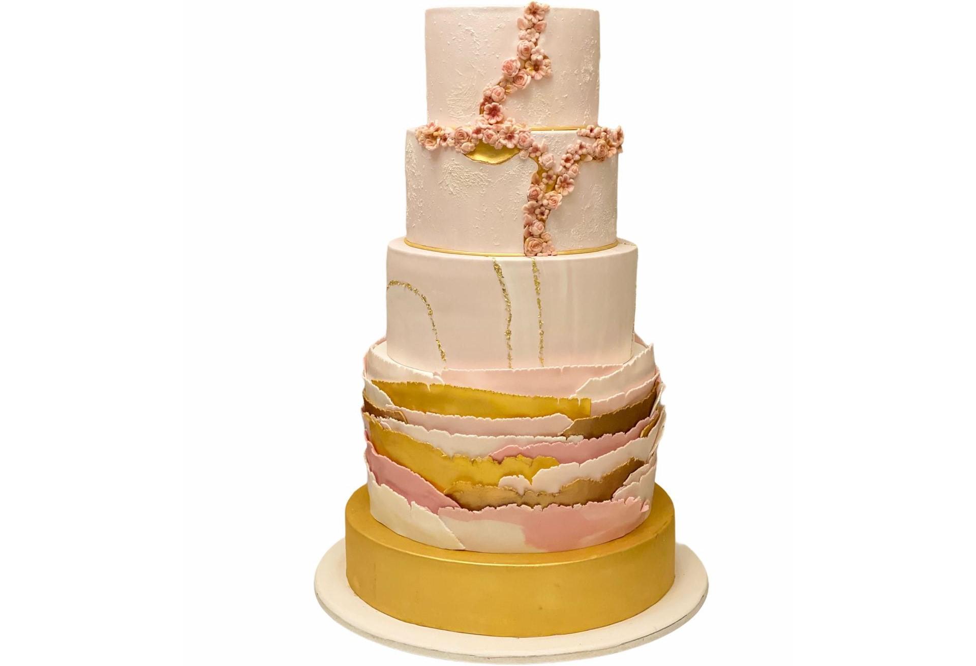 Tort Nunta - Gold